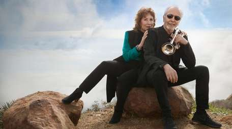 Trumpeter Herb Alpert and his wife, singer Lani