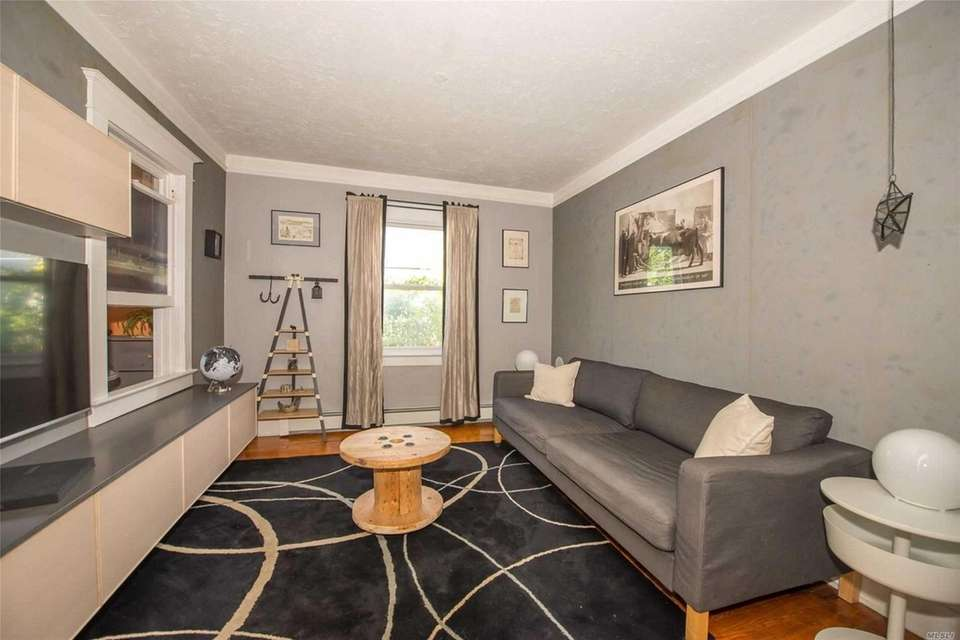 Features in the house include an updated kitchen,
