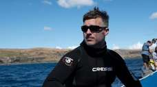 """Craig O'Connell from """"Return to Shark Island,"""" which"""
