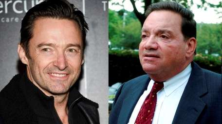 Hugh Jackman, left, will play former Roslyn