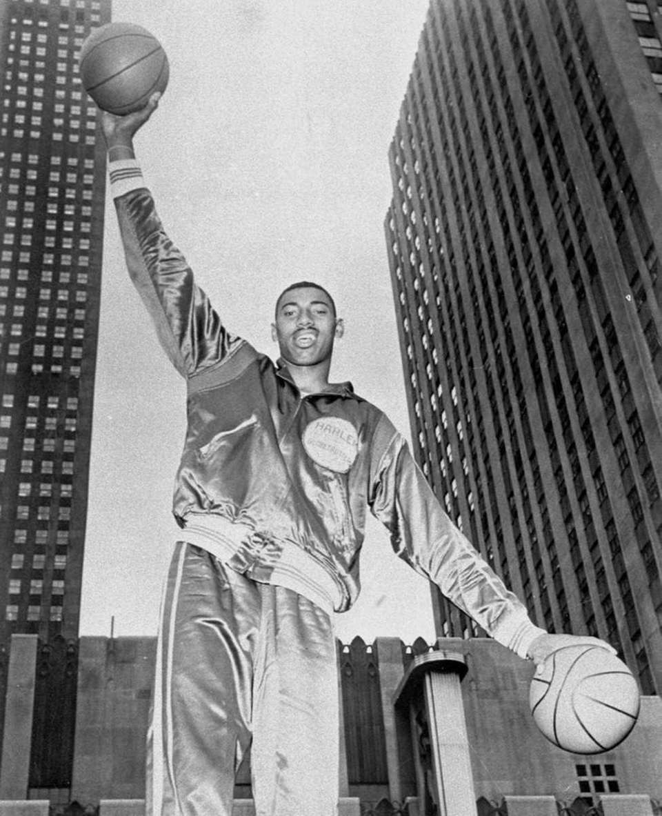 WILT CHAMBERLAIN: 58 points San Francisco Warriors, center