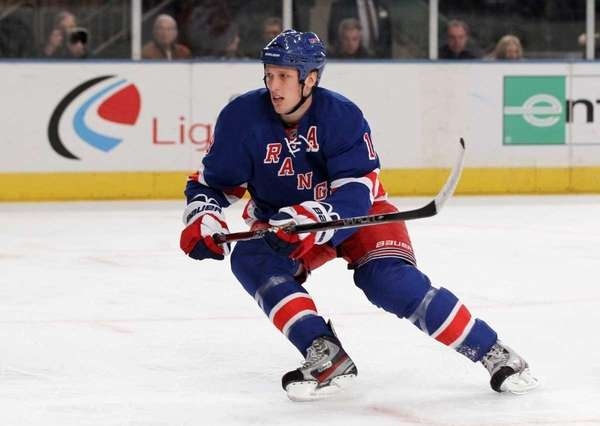 Marc Staal #18 of the New York Rangers