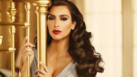 A photo of Kim Kardashian posing for her