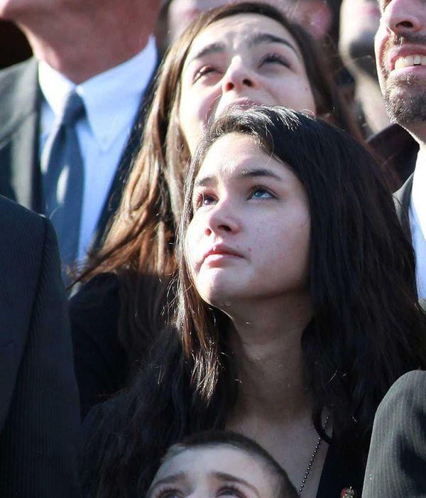 The daughter of John Capano, Natalie, at his