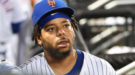 Mets' Dominic Smith, shown here on Wednesday, July