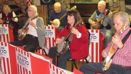 The Long Island Banjo Society performs every Friday