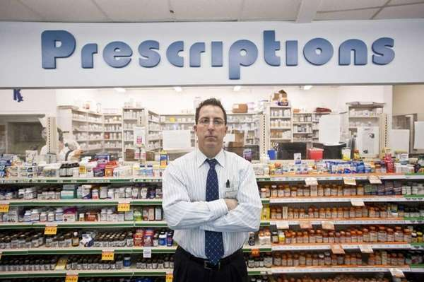 Michael Nastro, pharmacist and owner of Fairview Pharmacy