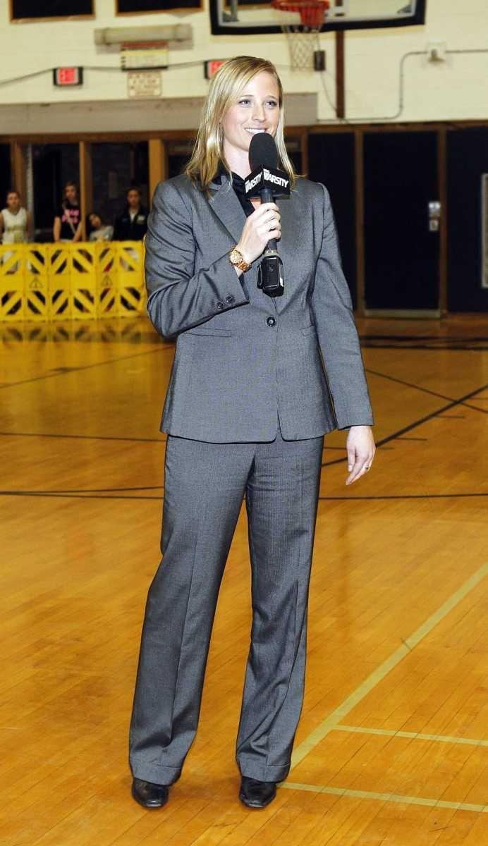 Former Sachem basketball star Nicole Kaczmarski has her