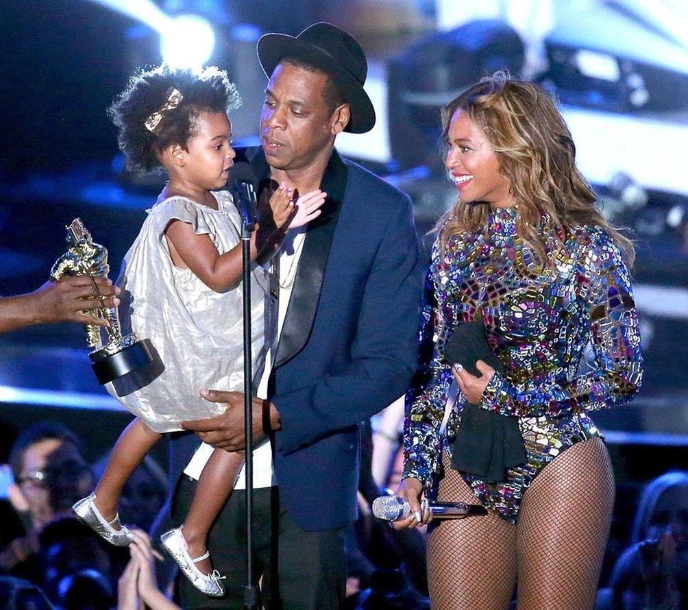 Parents: Beyoncé and Jay Z Child: Blue Ivy,