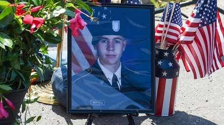 A picture of Army Spc. Ryan Kettell at