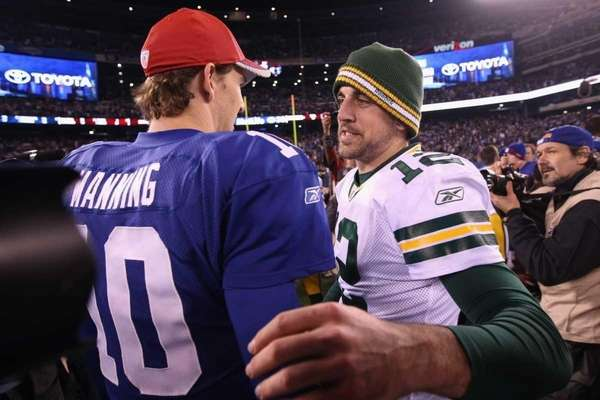 Giants get wish: Second shot at Packers