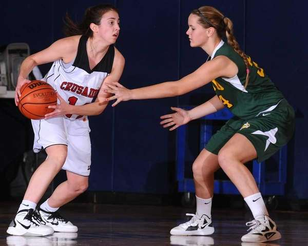 Long Island Lutheran High School senior Paige Krifcher,