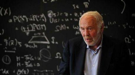 Renaissance Technologies, founded by ex-Stony Brook professor James