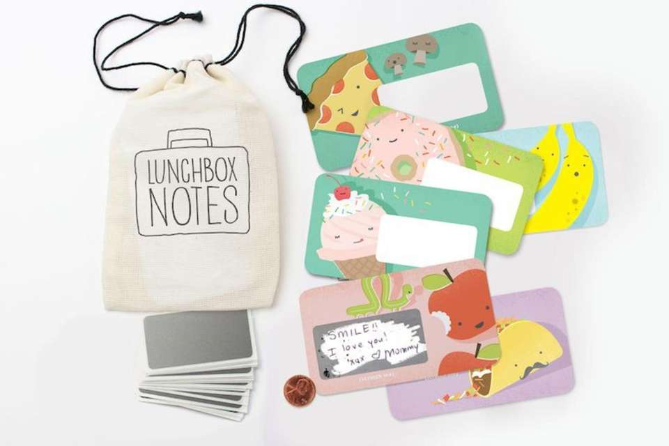 These scratch-off notes help parents and kids stay
