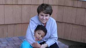Jane Cassi of Nesconset with her son, Steven