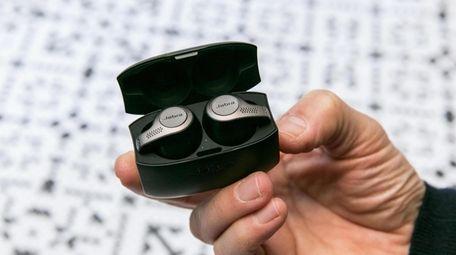 Jabra Elite 65t wireless headphones are comfortable and