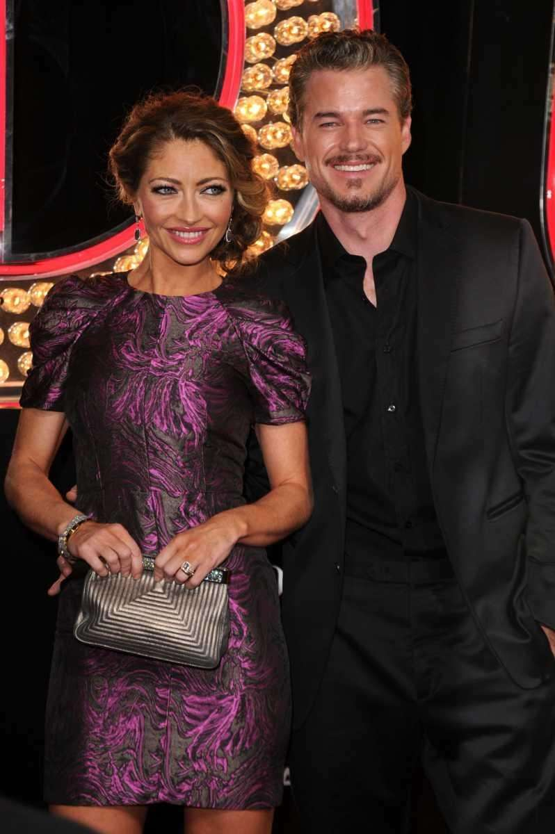 Parents: Eric Dane and Rebecca Gayheart Children: Georgia,