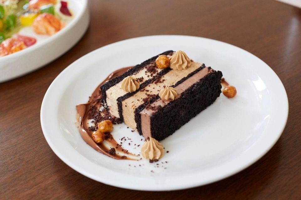 Anker (47 Front St., Greenport): Dark chocolate cake