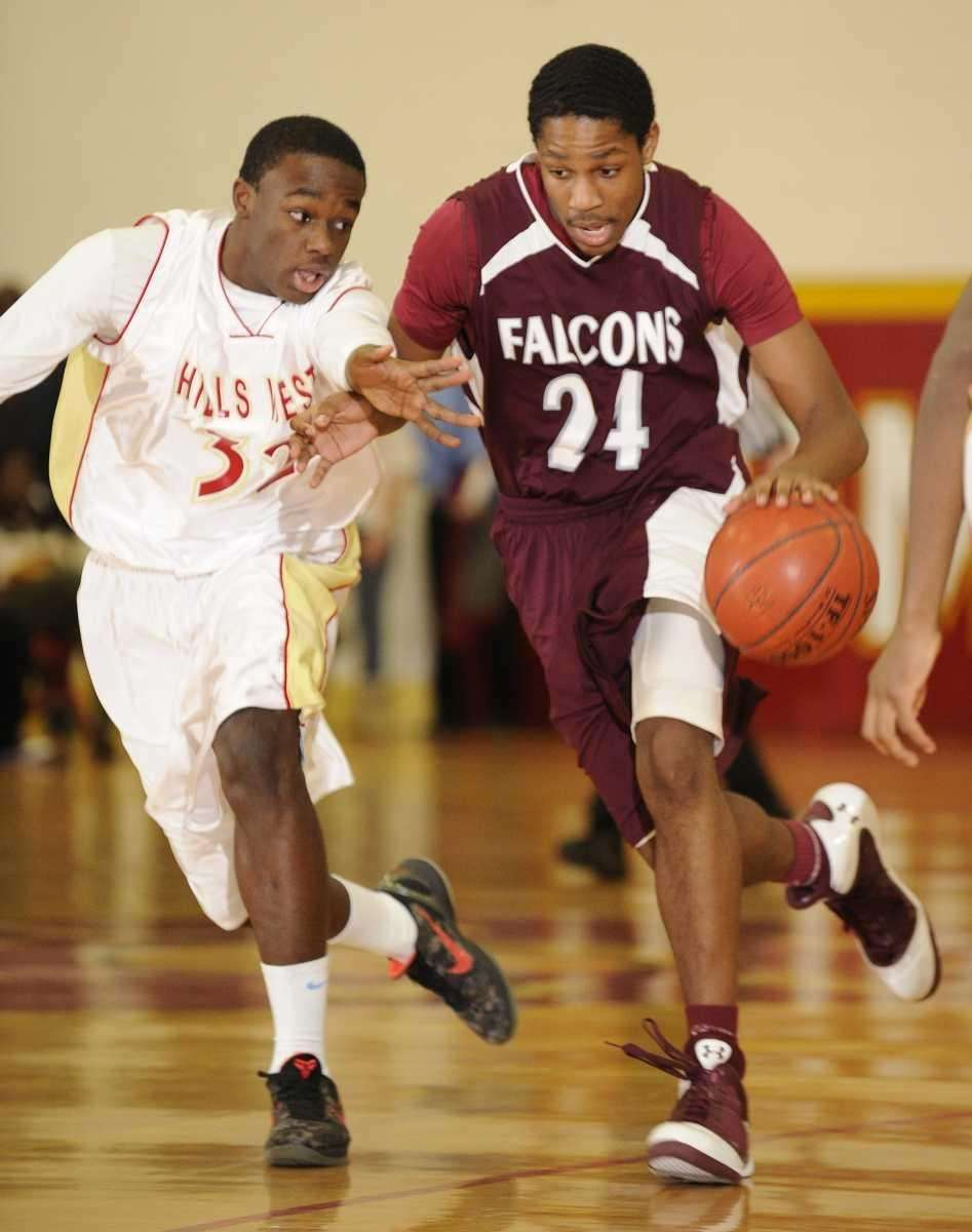 Deer Park guard Keith Williams controls the ball
