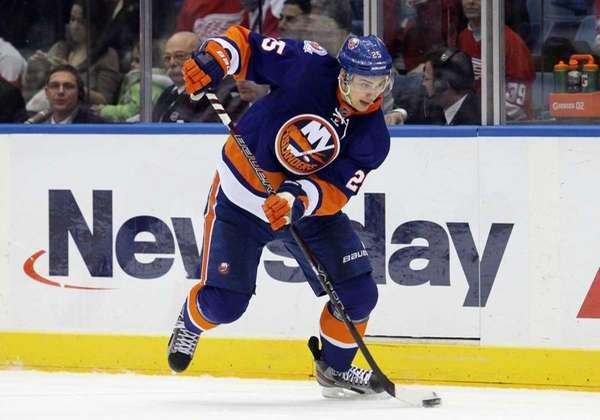 Nino Niederreiter of the New York Islanders. (Jan.