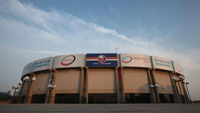 The Nassau Coliseum is at the center of