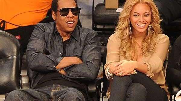 An undated file photo of Beyonce and Jay-Z.