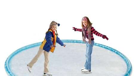 A new Inflatable Ice Skating Form lets you