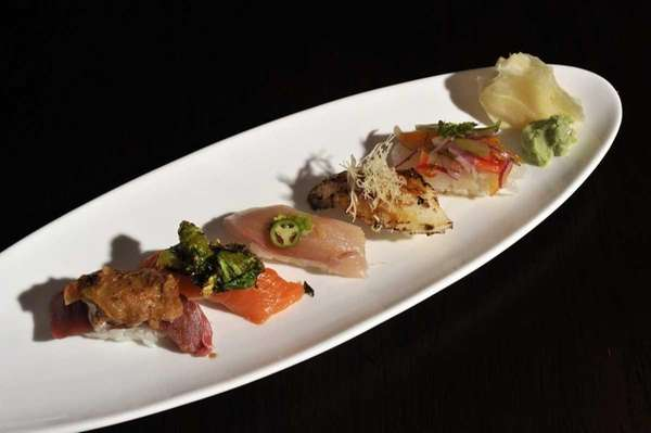 Arata Sushi chef-owner Jimmy Lian creates Omakase, a