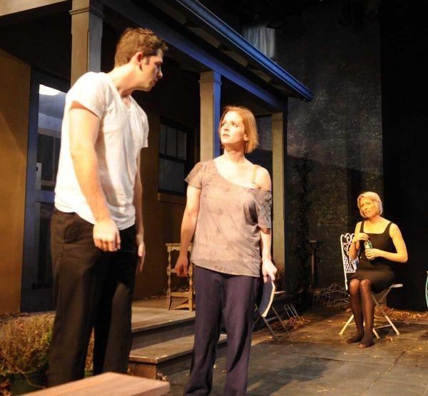 Jame Schultz, Maryellen Molfetta and Regina Schneider star