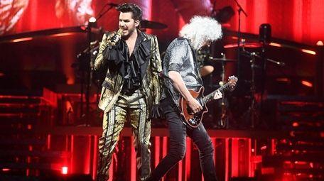Queen + Adam Lambert perform in concert at