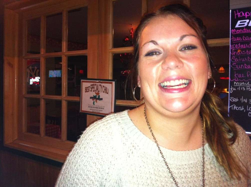 Lori Surozenski, 27, of Mattituck is a