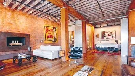 Colleen Hess bought her 1,850-sqaure-foot loft on West