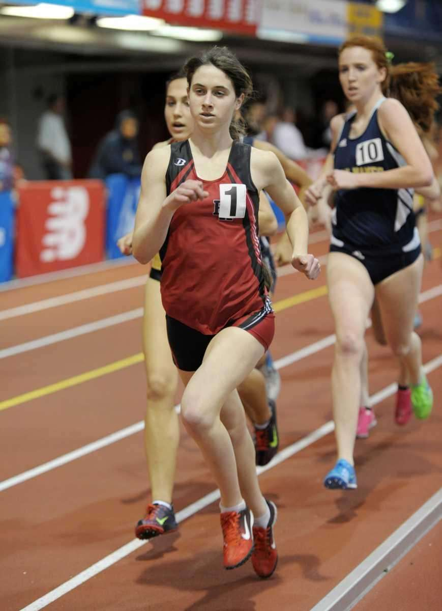 Kelsey Margey of Friends Academy finished first in