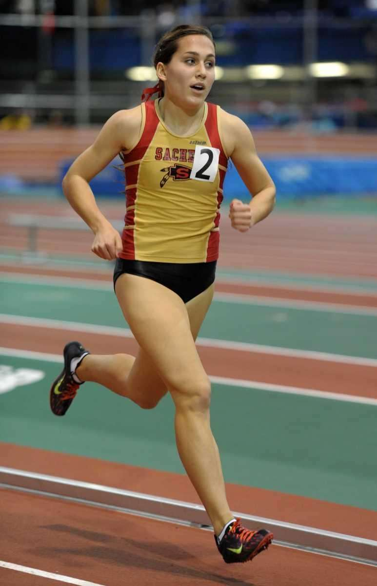 Rachel Paul of Sachem East finished second in