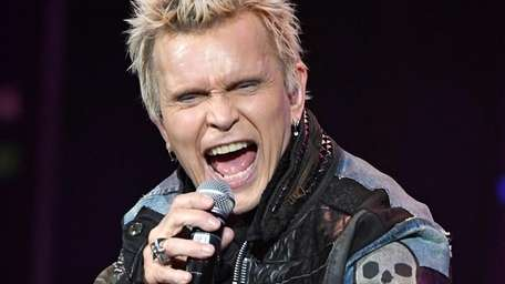 "Billy Idol kicked off his 10-show residency ""Billy"