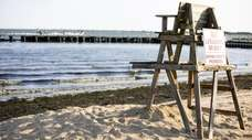 Tanner Park Beach in Copiague is among about