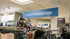 The Macy's Backstage store at Roosevelt Field: Two