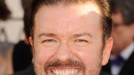 Ricky Gervais at the 68th Annual Golden Globe