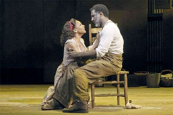 "Audra McDonald and Norm Lewis in ""Porgy and"