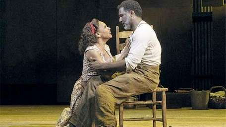 """Audra McDonald and Norm Lewis in """"Porgy and"""
