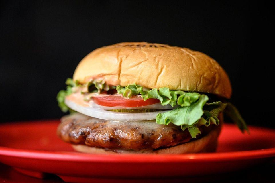 The Quinoa burger at Local Burger in Bay