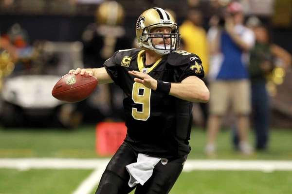 DREW BREES: 5,476 2011, New Orleans Saints Stats: