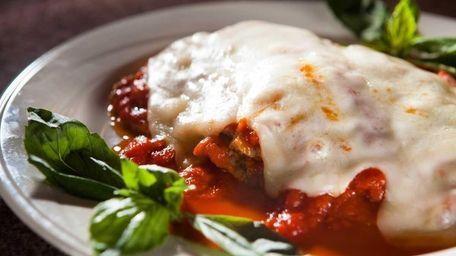 Da-Angelo, Albertson: Executive chef-owner Angelo Giangrande makes eggplant
