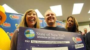 Middle Island, NY: Daniel Bruckner, 35, with his