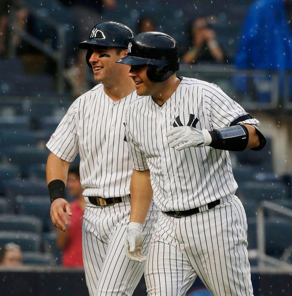 Austin Romine #28 of the New York Yankees