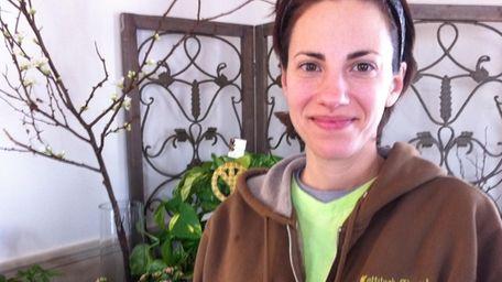 Danielle Lascala, 36, of Lindenhurst, owns Mattituck Florist
