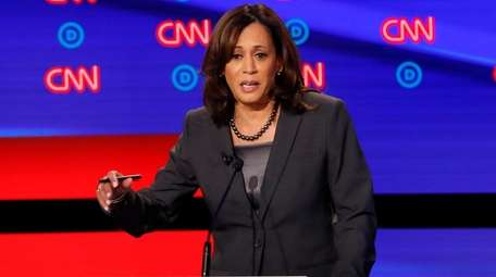 California Sen. Kamala Harris.