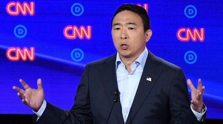 Entrepreneur Andrew Yang.