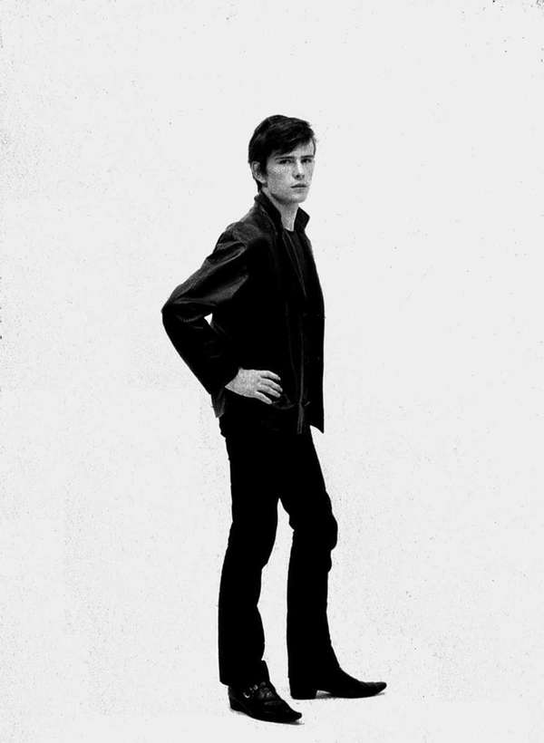 A 1961 picture of Stuart Sutcliffe posing in