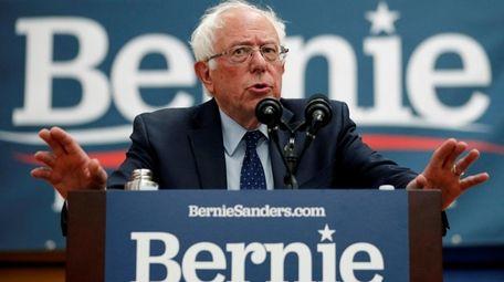 Democratic presidential candidate Sen. Bernie Sanders (I-Vt.), speaks